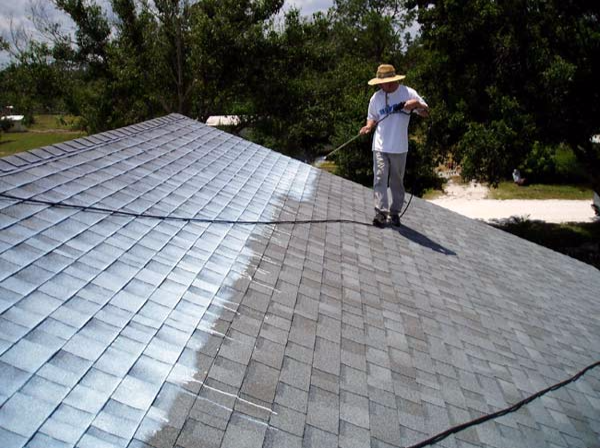 Cleaning your roof